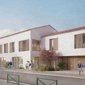 Logements collectifs à Breuillet (17)